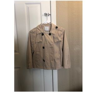 Forever 21 Crop Trench Coat